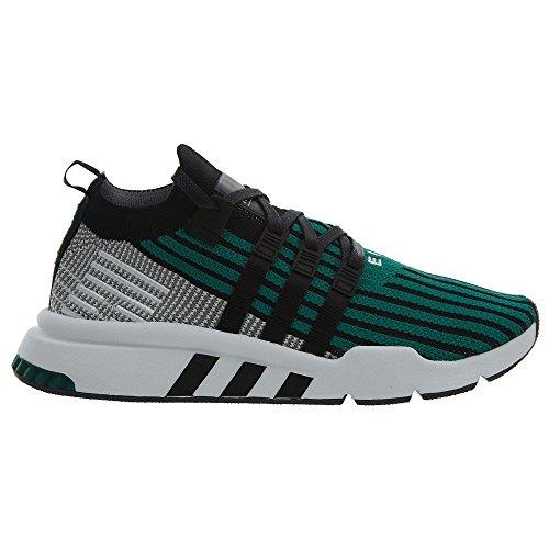 Adidas Mens Originali Pk Eqt Supporto Metà Adv In Esecuzione Nucleo Scarpa Nera Verde / Sub