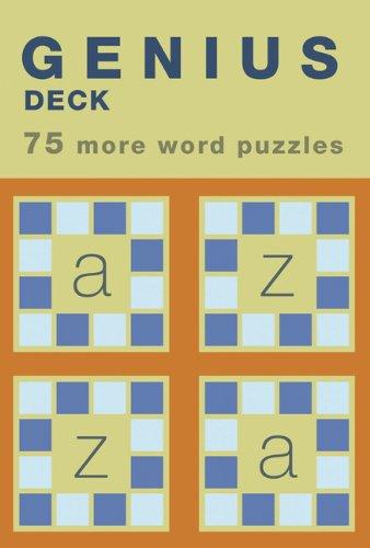 Genius Deck Word Puzzles - Genius Deck 75 More Word Puzzles (Genius Decks)