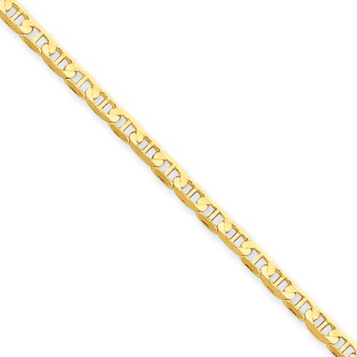 3mm, 14k Yellow Gold, Concave