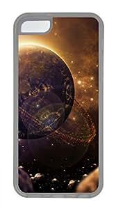 iPhone 5c case, Cute Sci Fi Planet iPhone 5c Cover, iPhone 5c Cases, Soft Clear iPhone 5c Covers