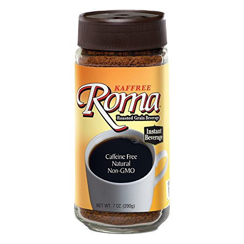 Kaffree Instant Roasted Grain Beverage - Roma - Case of 6 - 7 oz. by Kaffree Roma
