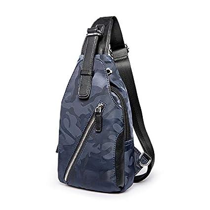 d5dc5de1918c Image Unavailable. Image not available for. Color  Men s Shoulder Bag  Casual Chest Pack ...