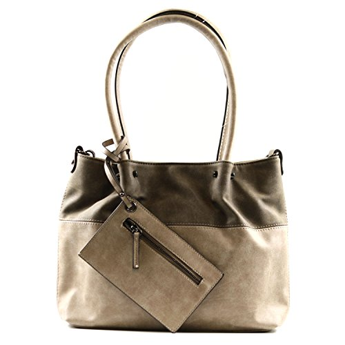 EMILY & NOAH - Shopper Taupe/Brown, 420.902D