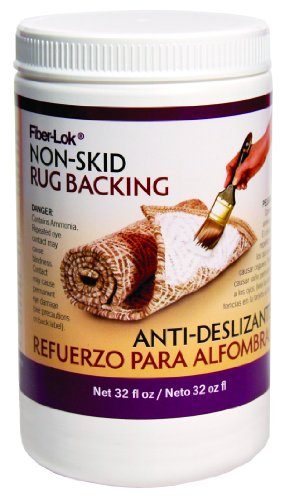 Environmental Technology 32-Ounce Fiber-Lok Non Skid Backing