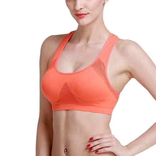 Yezijin_Women's Wear Women Athletic Running Sports Bra Gym