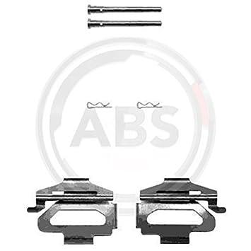 ABS 1225Q Kit de Accesorios, Pastillas de Frenos