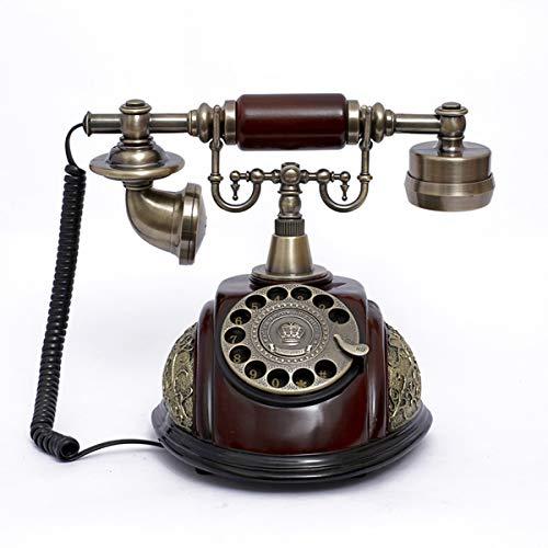 RISHIL WORLD Vintage Antique Style Rotary Phone Fashioned Retro Handset Old Telephone Home Office Decor Single Item. from RISHIL WORLD