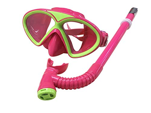 7f712a8adef YITU Kids Silicone Scuba Swimming Swim Diving Mask Snorkel Glasses Set Anti  Fog Goggles Kids Silicone Scuba Swimming Swim Diving Mask Snorkel Glasses  Set ...