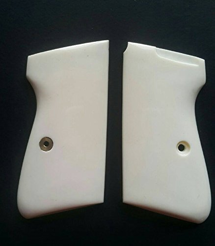 DOXICON&NOMIX Resin White Ivory Walther PPK, PPK/S Handcraft Handmade Grips Pistol
