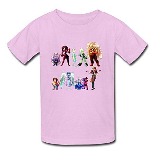 Kid's Vintage Steven Universe T-shirts Size M Pink By Mjensen