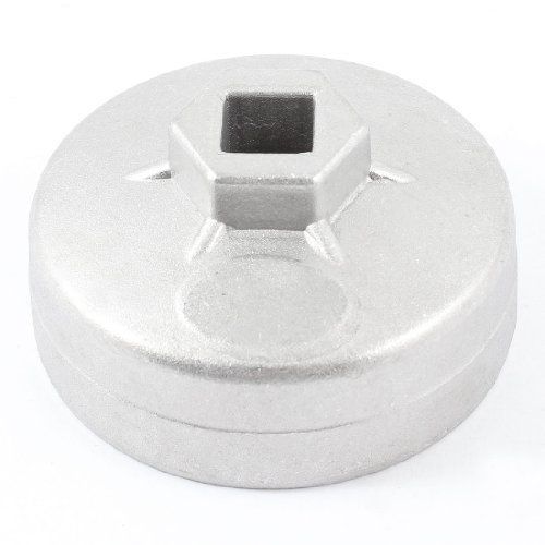uxcell Auto Car 13mm Drive 67mm 14 Flutes Oil Filter Cap Wrench Socket Cup by uxcell (Image #1)