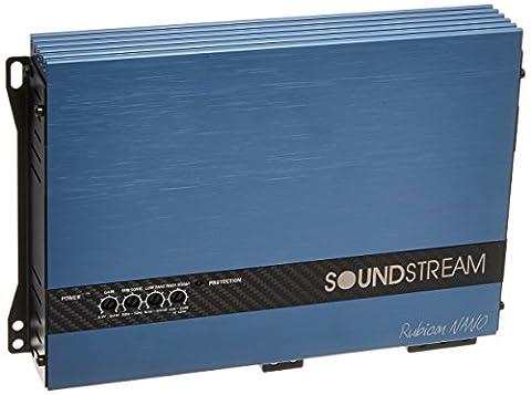 Soundstream RN1.2000D Rubicon Nano 2000W Class D 1-Channel Amplifier (Soundstream 1500 D)