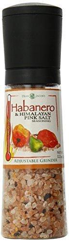 Habanero and Himalayan Pink Salt Jumbo Grinder (Habanero Rub)
