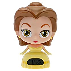 Disney Princess BulbBotz 2020879 Belle 'Beauty and The Beast' Light Up Alarm Clock