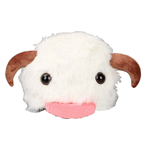 LIVIQILY White poro lovely Hat Costume Accessory for Christmas party,Christmas dress -