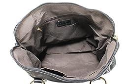 Scarleton Medium Belt Accent Tote Bag H126401 - Black