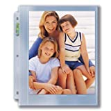 Ultra Pro 8x10 Photo Page 25 ct. Pack for 8.5'' x