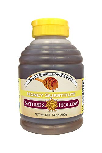 Nature's Hollow Sugar-Free Honey Substitue 14 Ounce, Non GMO, Keto Friendly, Vegan and Gluteen Free - 1 ()