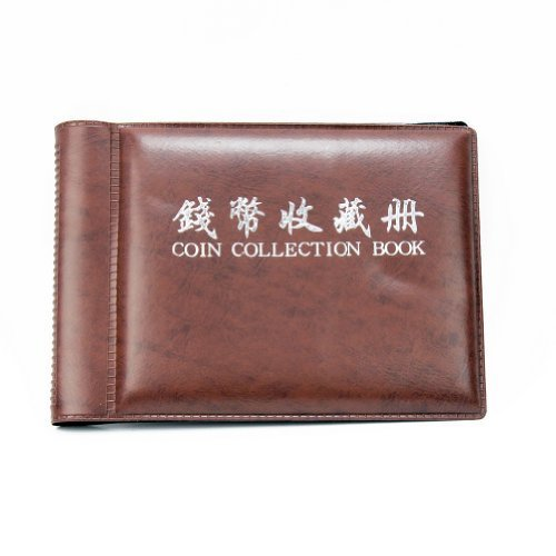 Qiyun Money Penny Coin Holders 60 Pockets 10 Pages Collection Storage Album Book New