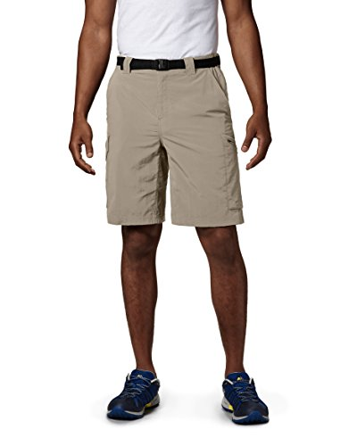 - Columbia Men's Silver Ridge Cargo Short, Fossil, 32x10