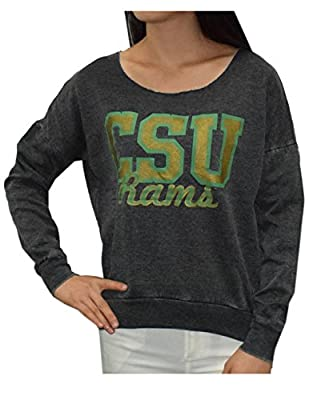 COLORADO STATE RAMS Womens NCAA Athletic Pullover Thermal Sweatshirt