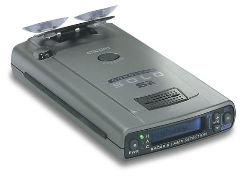 Passport Radar Detector >> Escort Solo S2 Cordless Radar And Laser Detector
