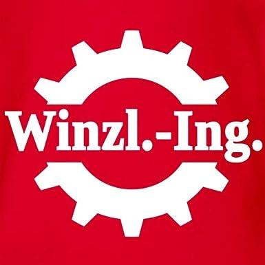 Spreadshirt Winzling Baby Bio-Kurzarm-Body