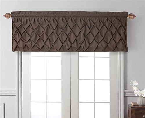 - VCNY Home Tailored Window Valance Pintuck Treatment