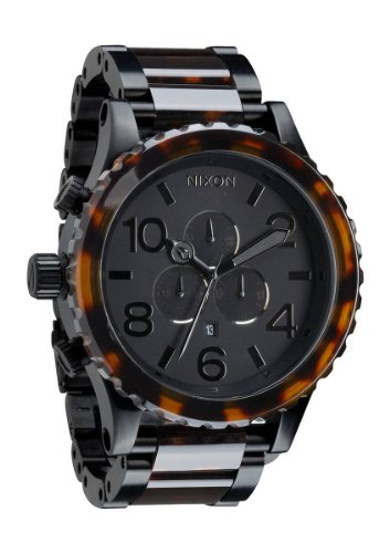 Matte Black/Dark Tortoise The 51-30 Chrono by Nixon