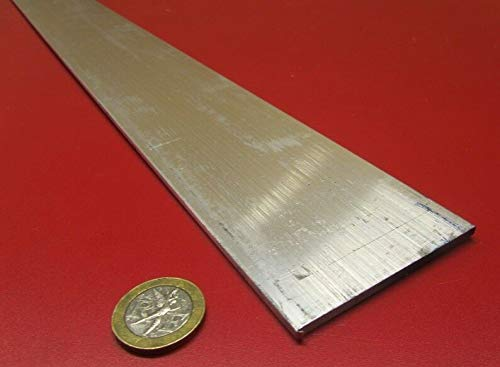 JumpingBolt 6061 T651 Aluminum Bar, 1/8'' (.125'') Thick x 2 1/2'' Wide x 24'' Length, 3 Units Material May Have Surface Scratches