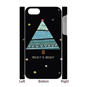 C-Y-F- American Flag Is It Friday Meowy Christmas Merry & Bright Phone 3D Case For Iphone 4/4s [Pattern-4]