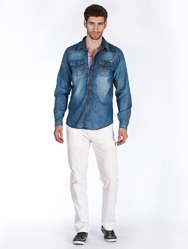 M.O.D Hemd AU13-MS621 XL, Light Denim