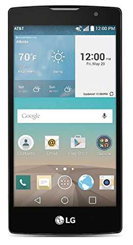 LG Escape 2 H443 Unlocked GSM 4.7' HD Display Quad-Core Android 5.1 Smartphone w/ 8MP Camera - Black