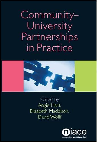 Scarica libri in formato pdf per iPad Community-University Partnerships in Practice 1862013179 PDF