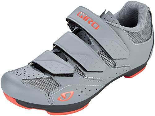 Giro Rev Cycling Shoes - Women's Titanium/Bittersweet 42