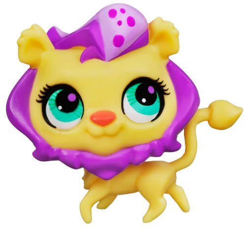 Littlest Pet Shop Sweetest Lion Single Pet (Littlest Pet Shops Free)