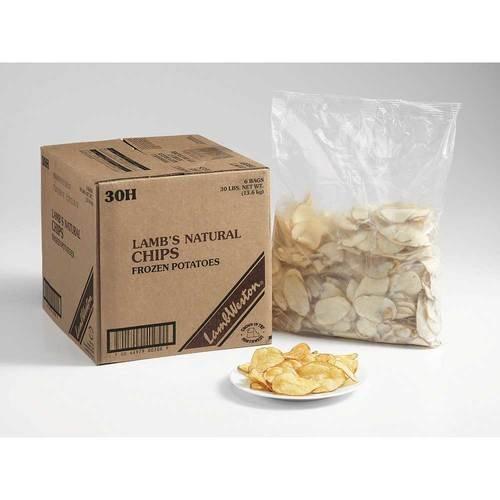 Potato Chips Fry, 5 Pound - 6 per case. (Lamb Chips)