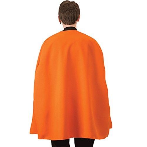 Loftus International Orange Superhero Cape Novelty Item (Cape International)