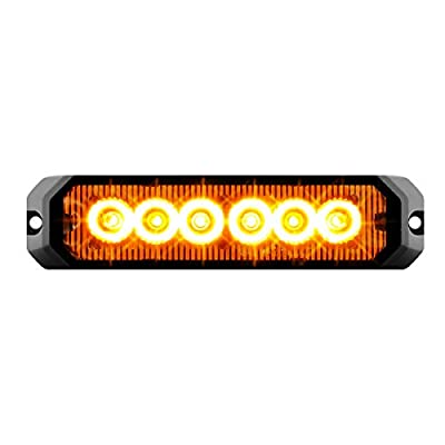 GG Grand General 81810 Amber/Amber LED Strobe Light (5