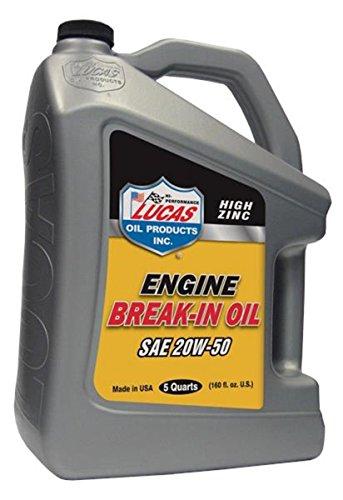 Lucas Oil 10636 Lucas Engine Break-In Oil (Engine Break In Oil)