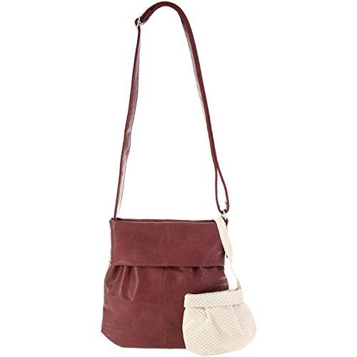 cm Blood Mademoiselle Zwei shoulder bag shopping Red M10 31 wawY4gq