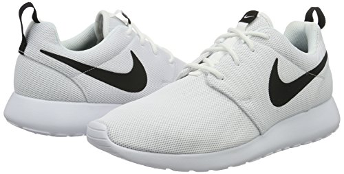 white Bianco Da Nike Roshe black One Donna Corsa Scarpe qwfzw0H