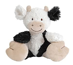 Happy Horse Animal Farm Plush Toy, Clooney the Cow, Small (Discontinued by Manufacturer)