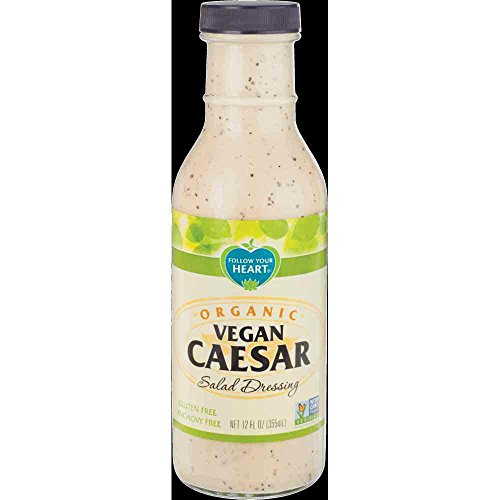 Follow Your Heart Organic Vegan Caesar Salad Dressing, 12 Ounce -- 6 per case.