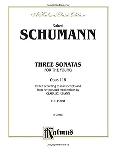 118 Op Three Sonatas for the Young