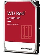 "Western Digital WD60EFAX Red NAS Hard Disk Drive, 6TB, 256MB, 5400RPM, SATA, 3.5"""