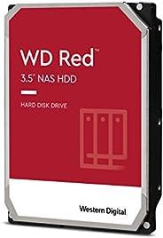 "WD Red 4TB NAS Internal Hard Drive - 5400 RPM Class, SATA 6 Gb/s, SMR, 256MB Cache, 3.5"" - WD4"