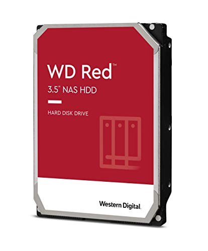 "Western Digital 2TB WD Red NAS Internal Hard Drive - 5400 RPM Class, SATA 6 Gb/s, SMR, 256MB Cache, 3.5"" - WD20EFAX"