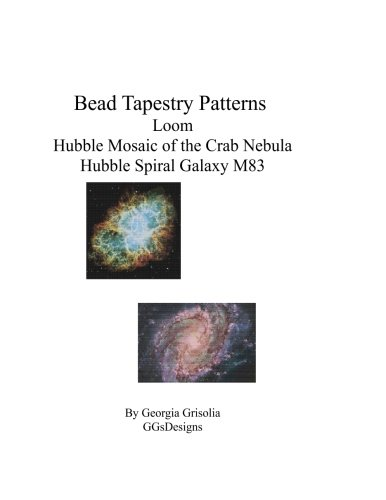 Bead Tapestry Patterns loom Hubble Mosaic of the Crab Nebula Hubble Spiral Galaxy M83