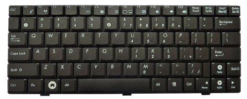 New US Layout Black Keyboard for Asus EEE PC 10 inch: 1000 1000H 1000HA 1000HC 1000HD 1000HG 1000HT 1002HA 1000HE 1000HV 1000V series laptop. Compatible P/N: 04GOA0DKKO00-1 V0215621S4 V021562LS1.
